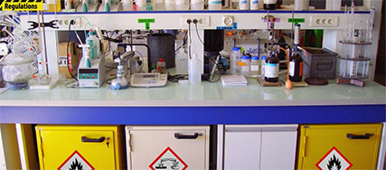 screen shot from Laboratory Chemical Waste Management