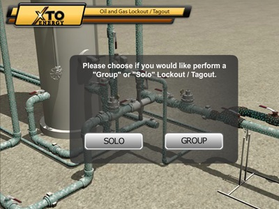 Lockout/Tagout Pipeline Simulation 2