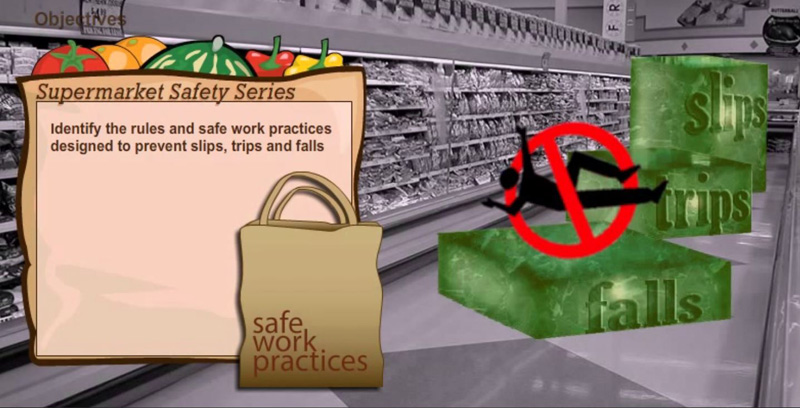 Slips, Trips and Falls - Supermarket Thumbnail