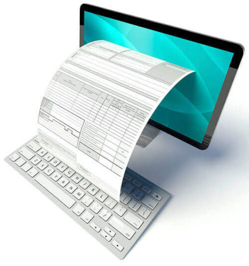 Image of an online report.