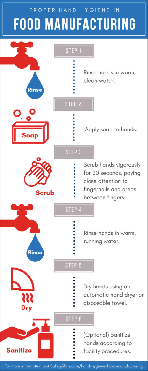 Proper Handwashing Infographic