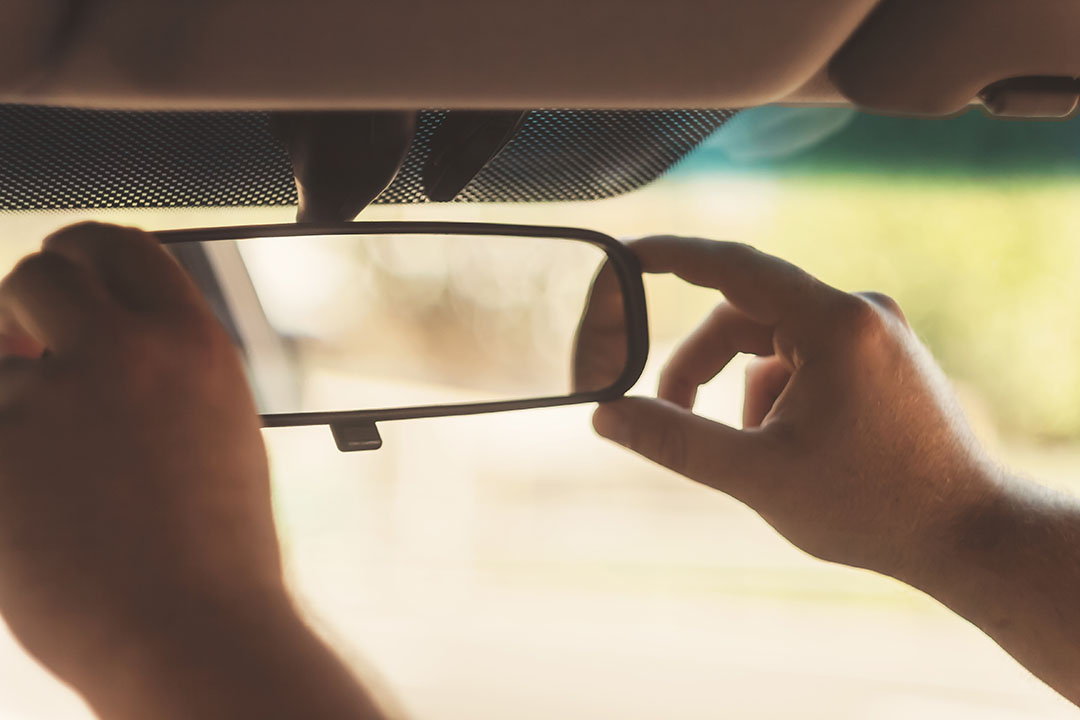 Rearview Mirror Backing