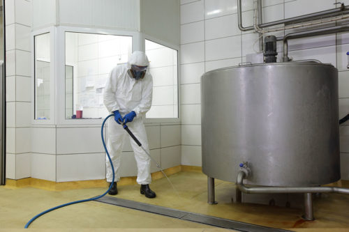 Low Pressure Cleaning