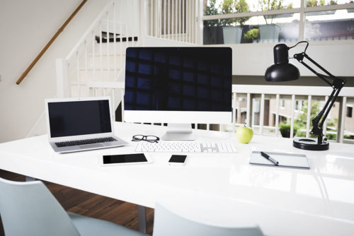 Modern office set-up