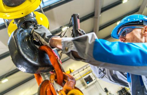 Industrial Ergonomics Working Overhead