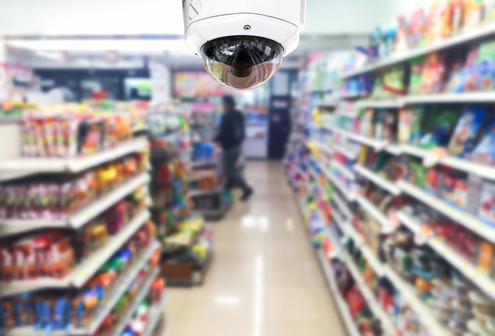 retail safety using camera