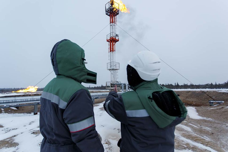 Oil and Gas Cold Employees