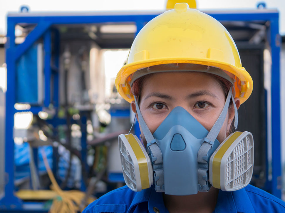 Breathing protection PPE