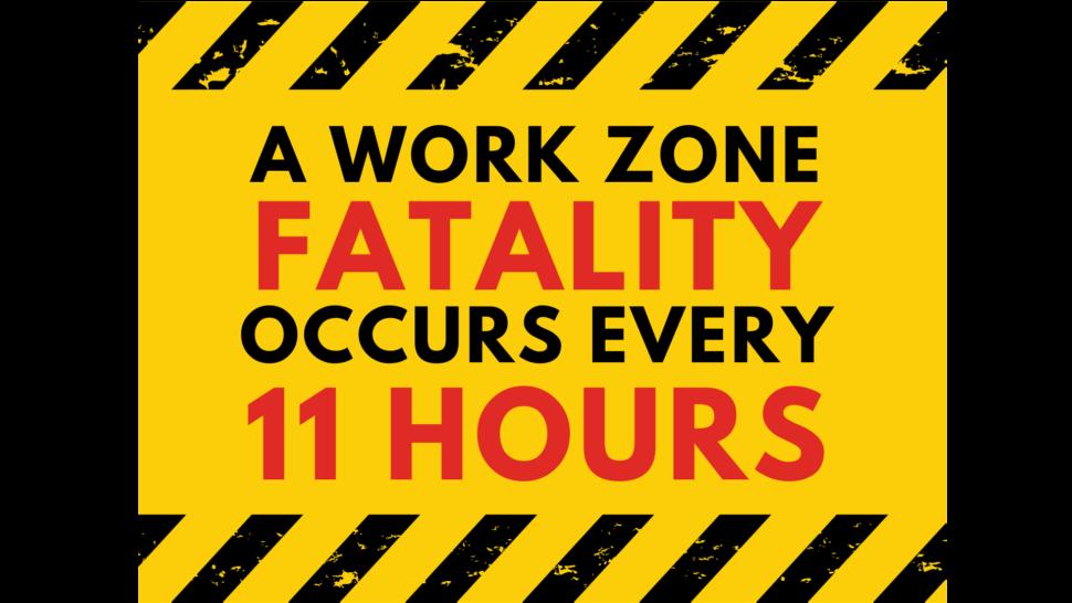 Work zone fatality statistic