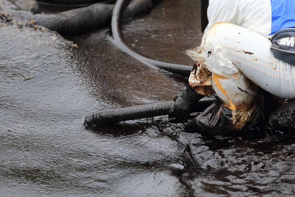 Oil spill prevention in Canada