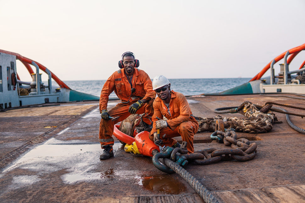Oil and gas back injury prevention