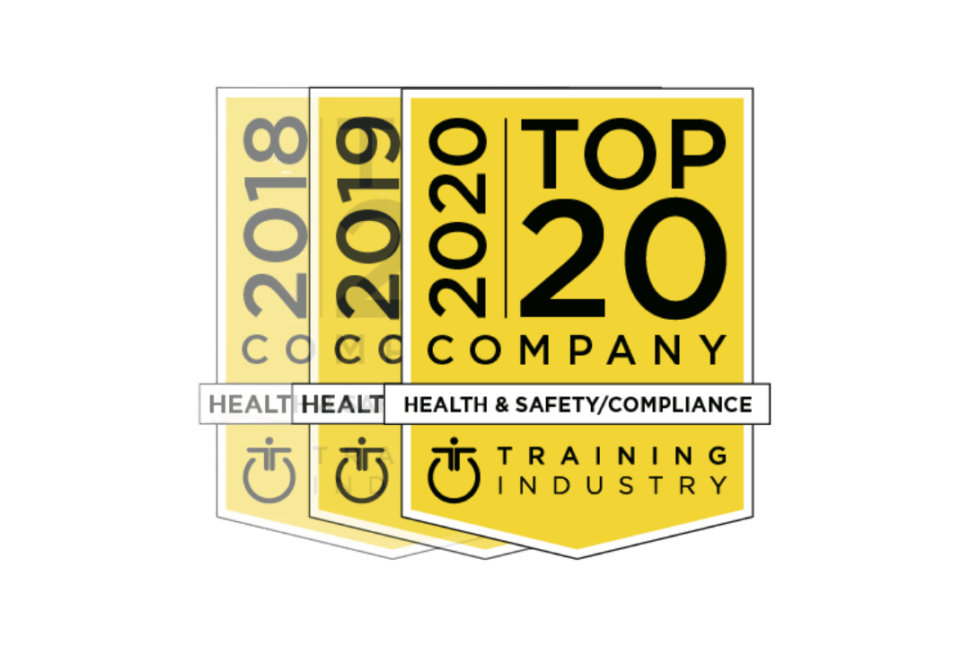 Training Industry Top 20 Award