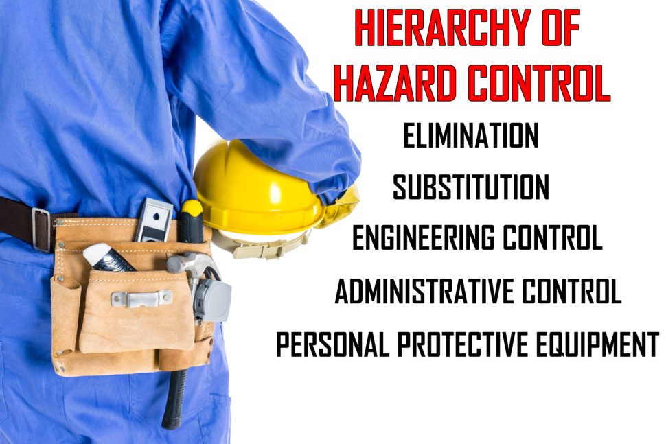 hierarchy of hazard control list