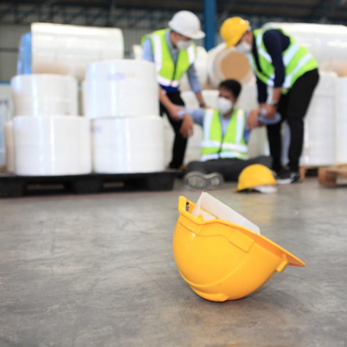Injured warehouse employee in Canada